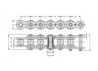 Lant 04B-1 Retezy Vamberk 5m